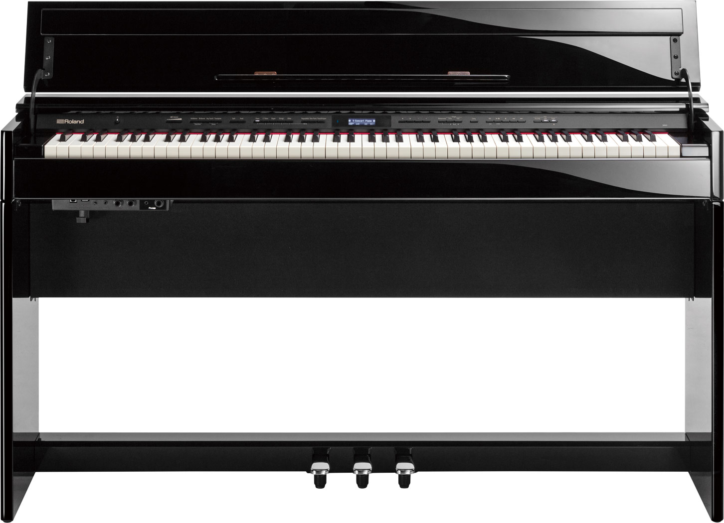 DP-603 Roland 88鍵藍牙窄身掀蓋式數位鋼琴