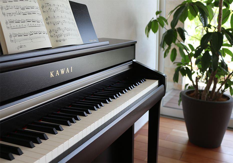CA-58 KAWAI 88鍵木質琴鍵電鋼琴