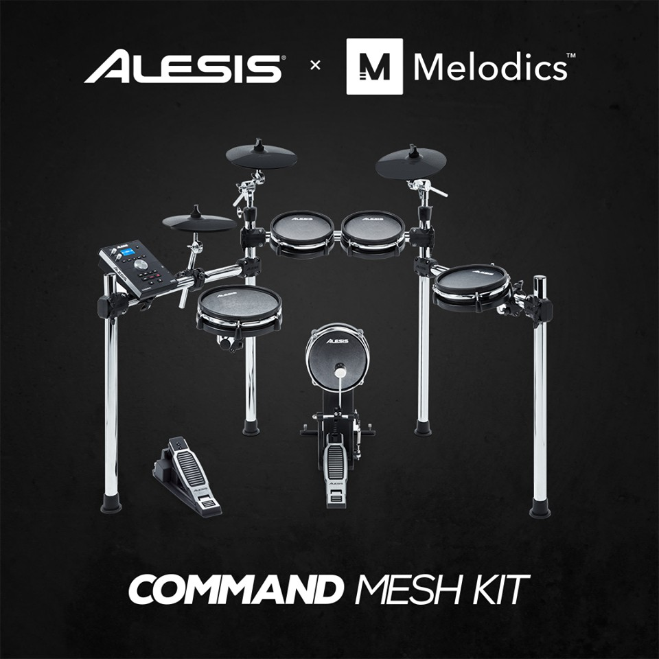 Command mesh Kit Alesis 網狀鼓皮爵士鼓