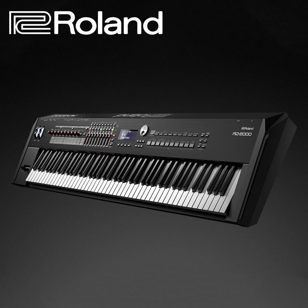 RD-2000 Roland 88鍵木質琴鍵舞台型鋼琴